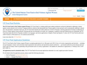 Usability audit for UN Women